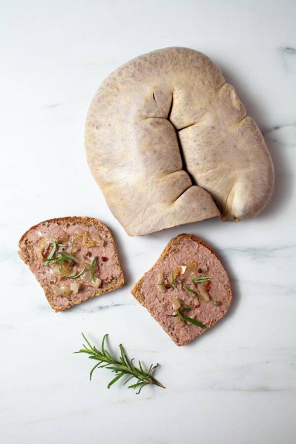 Pasztetowa Rachańska na kanapkę z wedzarni siwy dym