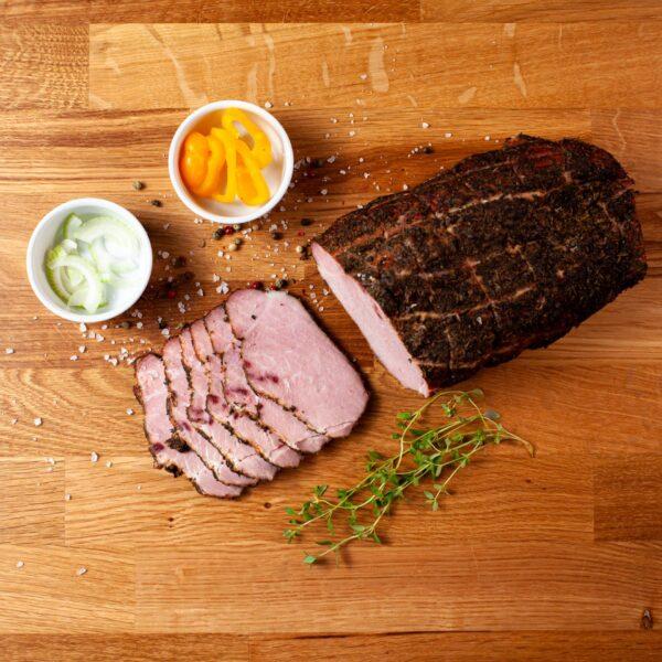 ham in herbs